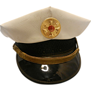 Vintage Assistant Fire Chief Hat