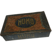 Vintage Early 1900's Humo Cigar Tin