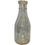 Vintage Universal 5 Cent Store Quart Milk Bottle