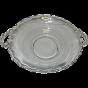 Vintage Fostoria Glass Century 2 Handled Bowl