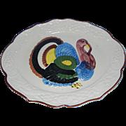 Vintage California Pottery Turkey Platter