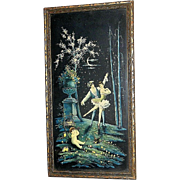 Vintage Brunozetti Framed Ballerina Lithograph