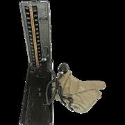 Vintage Baumanometer Portable Sphygmomanometer Blood Pressure Monitor