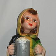 Vintage Hofbräuhaus (HB) Beer Monk Figurine
