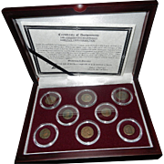 Ancient Roman Bronze Coins- Constantinian Dynasty
