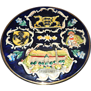 Vintage Stuttgart West Germany Souvenir Plate