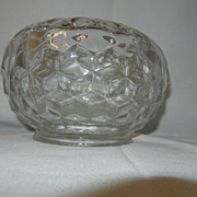 Fostoria American Large Rose Bowl