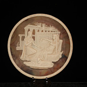 Vintage 1979 Incolay Stone Antony and Cleopatra Great Romances of History Plate