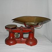 Vintage Cast Iron Candy Scale
