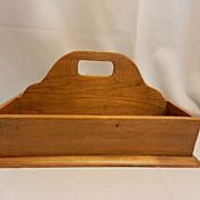 Vintage Wooden Tote Box