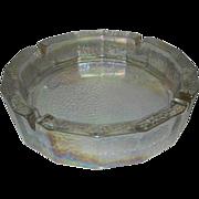 Large Vintage Iridescent Ashtray