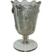EAPG Victorian Celery Vase Actress pattern - Made by Adams & Co. 1880 – 85