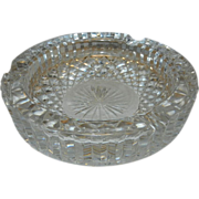 Vintage Waterford Crystal Ashtray