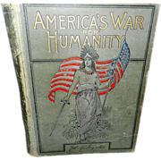 Vintage Book America's War for Humanity- The  Struggle for Liberty- John Ingalls- Spanish Amer