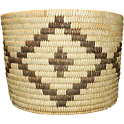 Vintage American Indian Basket Papago Tribe