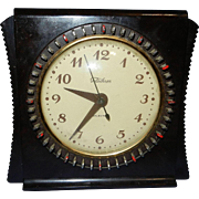 SOLD Vintage Telechron 8H55 Art Deco Style Selector Mantle Clock