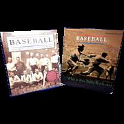 Vintage Sports Book- Baseball An Illustrated History- Ward and Burns PBS Companion Edition.