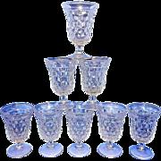 Vintage American Fostoria Clear #2056 Water Goblet