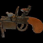 SALE Vintage Dunhill Tinder Pistol Table Lighter