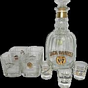 Vintage Jack Daniel's Old No 7 Half Gallon Commemorative 'Replica' Maxwell House Decanter †.