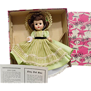 Nmint Boxed Vintage BKW Vogue Ginny Doll in Gown Pretty A.O.