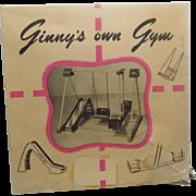Vintage 1955 Vogue Ginny Doll Gym NMIB #925