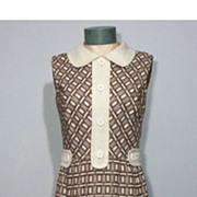 SALE Vintage 1960s  Shannon Rodgers For Jerry Silverman That Girl Dress