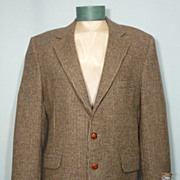 SALE Vintage 1970s Coat Tails Milnburn Tweed Sport Coat