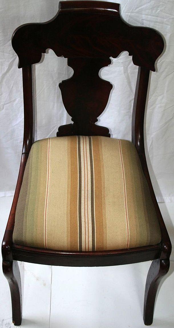Set Of Victorian Dark Mahogany Chairs Paine Furniture Co