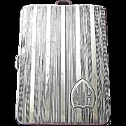 Sterling Silver Art Deco Elgin Evening Case Circa 1920's