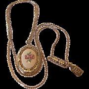 SALE 1928 Company Cameo Locket Necklace
