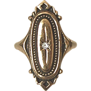 "SALE Avon Victorian Revival Ring ""Kensington"" Size 5.0-5.25"