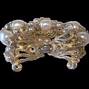 Mid Century Five Strand Coro Bracelet