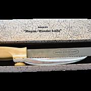 "Original Deluxe ""Magna-Wonder Knife"" 8.25 Inch Blade"