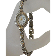 Hearts Design Quartz Bracelet Watch Working