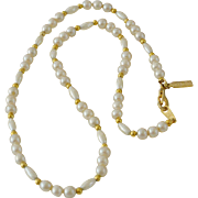 Marvella Faux Pearls Necklace