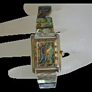 Pierre Nicol Shell Inlay Quartz Women's Bracelet Watch
