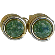 Green Stone Cufflinks