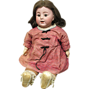 K & K Toy Co. Bisque Doll 58, Alt Beck & Gottschalck, ABG