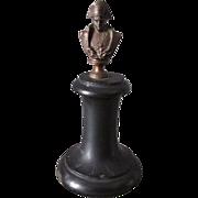 19thC Miniature Bust of Napoleon Bonaparte
