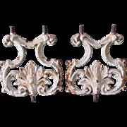 19thC Victorian, Art Nouveau Cast Iron Architectural Ornaments