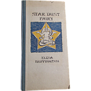 RARE c1922 Star Dust Fairy, Eliza Buffington, Illustrated, Music Related