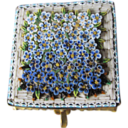 Lovely Victorian Millifiori Jewelry Box with Silk Interior