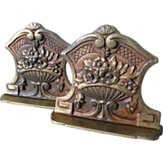 Lovely Art Nouveau, Art Deco Flower Urn Bookends