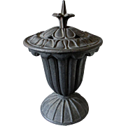 Antique Victorian Cast Iron Stove Finial, Humidifier or Steamer