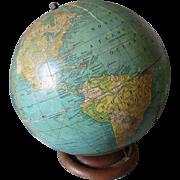 c1941,  8 Inch Terrestrial World Globe No 80. by George F. Cram