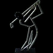 Mid Century Modern Frederick Weinberg Golfer Sculpture