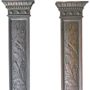 SOLD Lovely Pair of Victorian Aesthetic Bronze Architectural Elements