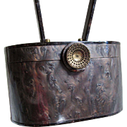 Vintage 1950s Wilardy Lucite Handbag