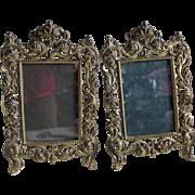 Pretty  Pair Antique Victorian Picture Frames